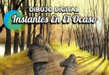 """Muestra de arte digital """"Instantes en el Ocaso"""" de la artista Camila Ramirez"""