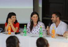 Federico achaval se reunió con la diputada Monica Macha en Del Viso