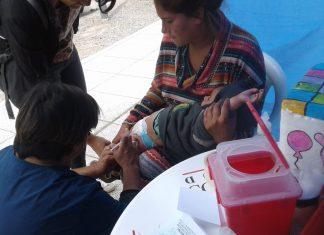 Campaña especial de vacunación contra el sarampión