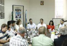 Achaval dialogó en SCIPA respecto a los comercios locales y el futuro de Pilar