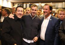 Achaval en el Foro de Concejales e intendentes en Rosario acompañando al candidato a presidente Alberto Fernandez