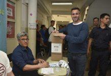 Elecciones Generales 2019 Federico Achával votó en Manuel Alberti