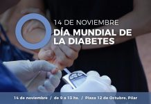 Dia mundial de la diabetes en Pilar