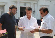 Santiago Laurent, Molina y Silvio Rodriguez critican la falta de colaboracion del municipio en el traspaso