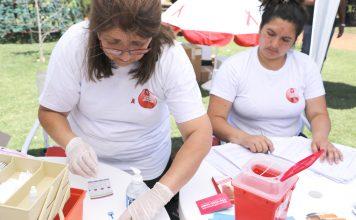 Testeo HIV Día de la lucha contra el SIDA