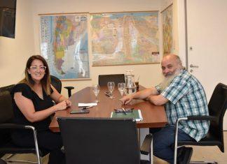 El secretario de Economía Social de la Nación recibió a su par del Municipio de Pilar e
