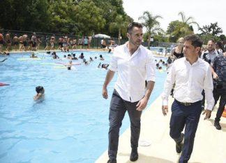 Achaval y Kiciloff en inauguración de Escuelas Abiertas en Verano de la UOM