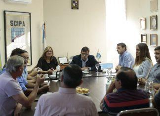 Seguridad: el municipio se reunió con comerciantes de Pilar
