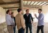 Achával y Katopodis recorrieron obras en Pilar y se anunciaron 280 millones para obras