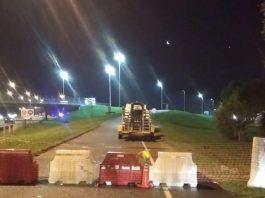 El municipio cierra temporalmente algunos accesos a la Panamericana