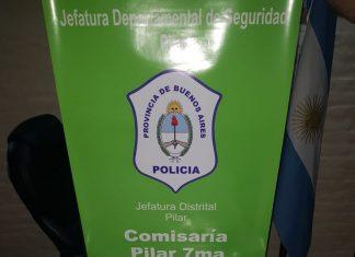 Guardia Urbana de Pilar detiene a narcotraficante armado