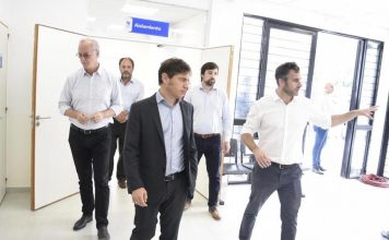 Achával y Kicillof inauguraron el Centro de Diagnóstico Tratado del Pilar, destinado al coronavirus