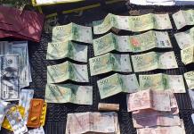 Guardia Urbana de Pilar detuvo a dos personas por tráfico de drogas