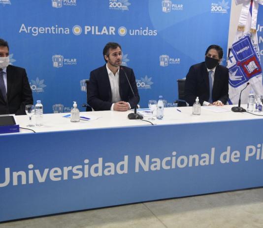 Achával anunció la creación de la Universidad Nacional de Pilar