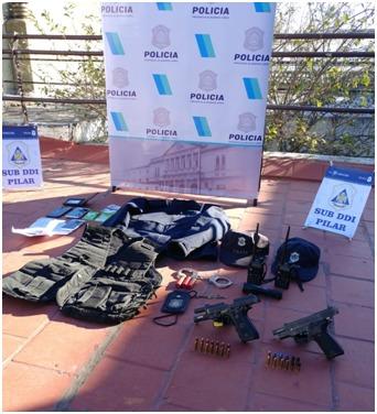 La Policía logra desbaratar una banda delictiva que extorsionaba vecinos de Pilar