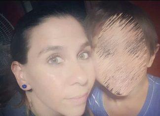 mamá con nene desaparecido