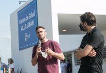 Achával inauguró junto a Carlos Bianco el Centro de Salud Villa Luján