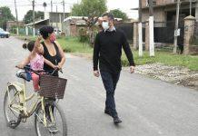 """Achával: """"Unir las calles que conectan a nuestra comunidad también es un Estado presente"""""""