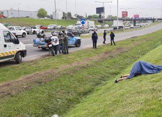 Un delincuente muerto luego de un Intento de robo en Panamericana