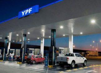 YPF aumentó sus naftas un 3,5%