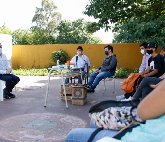 Achával acompañó el inicio de la revinculación educativa en Derqui y Astolfi