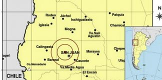 Dos sismos San Juan temblores