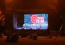 la noche parque Pilar
