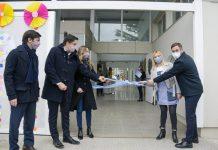 inauguraron el Jardín de Infantes N° 945, en Lagomarsino