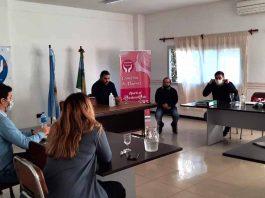 SCIPA Reunión con funcionarios