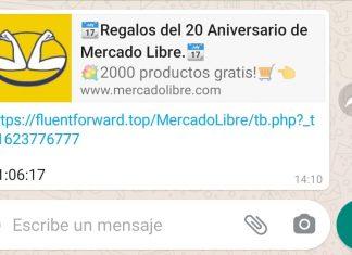 Atención: una nueva estafa circula por WhatsApp con un falso mensaje de Mercado Libre