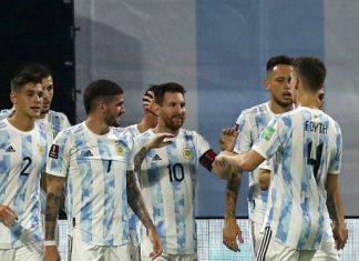 participación en la Copa América
