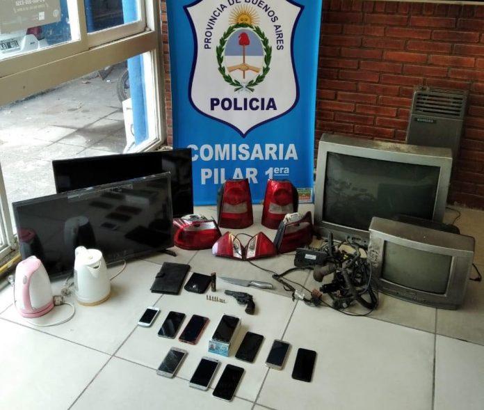 Desarticulan una peligrosa banda que robaba casas en Pilar.