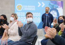 """Achával en Club Municipal Lagomarsino: """"El deporte nos lanza hacia una sociedad más inclusiva"""""""